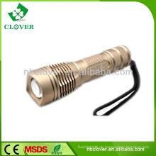 Aluminium 18650 Akku Leistung lange Reichweite Taschenlampe Fackel