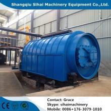 waste tire to base oil equipment