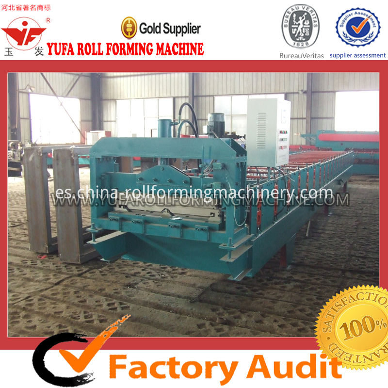 820 joint hidden roll forming machine