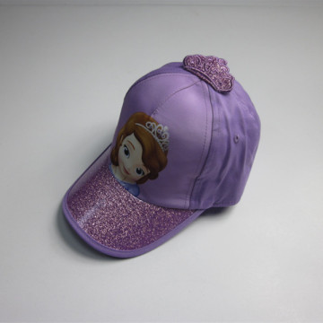 Girls Pretty Print Crown Sport Cap