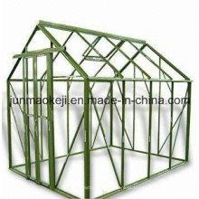 Estrutura de estufa de alumínio, disponível em 6 X 8FT e 8 X 10FT