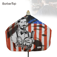 New Fashion Printing Designed Hot Sale Hair Cutting Cape Custom Barber Cape for Wholesale