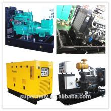С водяным охлаждением премьер 80KW shangchai дизельный двигатель генератор