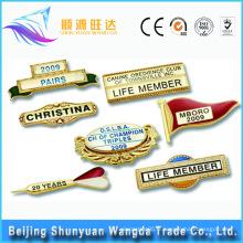 Chine Fournisseur Nom OEM Badge badge Pin en métal