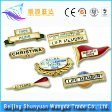 China Supplier OEM Name Button Badge Metal Pin Badge
