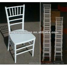 Chaise blanche pour mariage XA3010