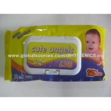 Babies' Wet Wipes, Measures 15x20cmNew