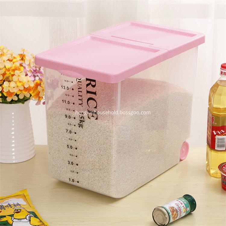 Rice Box Container