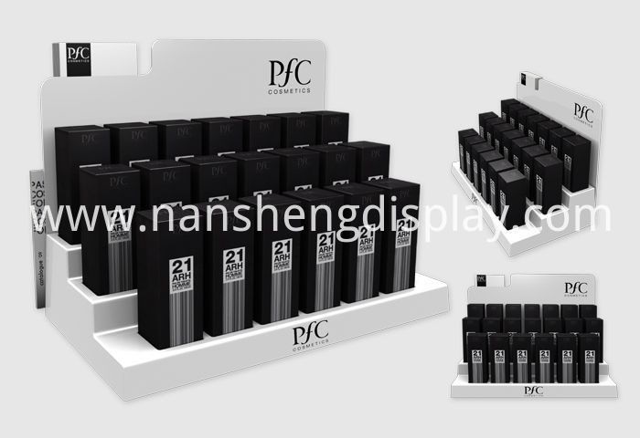 Cosmetic Counter Display Stand