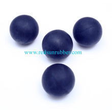 Custom 63mm Rubber Lacrosse Ball