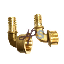brass pex male elbow and brass pex fitting