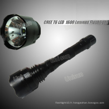 10W T6 CREE LED Aluminium Rechargeable Torch Light