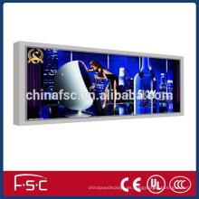 Tela de led pantalla de publicidad caja de luz