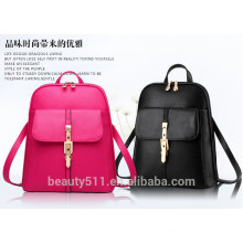 2017Low Price Pu young girl backpack Women fashionable shoulder bags ladies stylish backpack BH10
