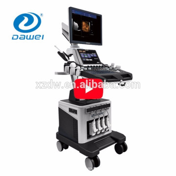 """New Arrival 19"""" plus 10.4''LED Real time 4D color doppler trolley high-end 3d 4d ultrasound machine factories"""