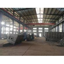 cadre en acier de fabrication de soudure en métal résistant