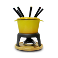 Set de fondue de esmalte