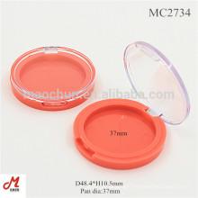 MC2734 Supply custom 37mm eye shadow cheap cosmetic cases