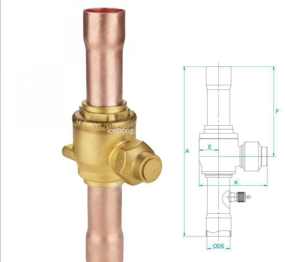 Refrigeration Ball Valve