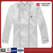 Polyester / Coton 65/35 Tissu Chef populaire