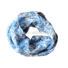 2016 new fashion polyester infinity scarf