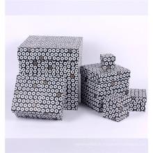 nouveau design perrty cardborad impression papier cadeau boîtes