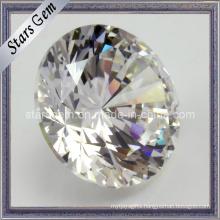Brilliant Cut High Quality White Facets Star Cut