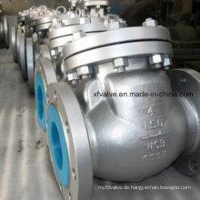Guss-Carbon-Stahl-Flansch-Anschluss-End-Rückschlagventil
