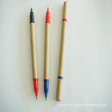 Venda quente eco amigável papel reciclado caneta esferográfica (xl-11505)
