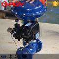 Tipo de diafragma de control neumático Válvula de control de presión de caudal de vapor