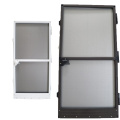 Fixed Aluminum frame insect screen mosquito net door