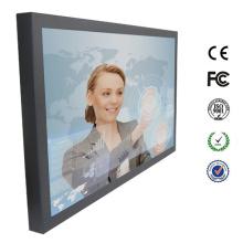 Quadrado da CC 12V monitor da tela de toque de 19 polegadas com entrada de HDMI DVI VGA