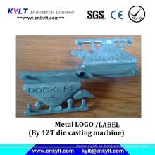 Logotipo de la marca de fábrica del metal