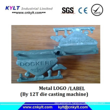 Zinc Die Casting Metal Label