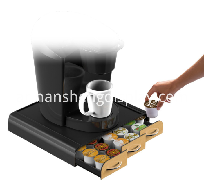 Triple Drawer Single Serve Coffee Pod Holder