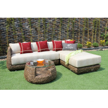 Top Selling Indoor Natural Water Hyacinth Sofa Set