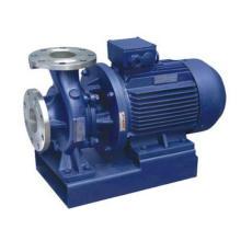 Fermeture horizontale couplé Inline pompe à eau centrifuge