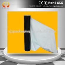 Film protecteur en polyéthylène blanc noir pour l'emballage