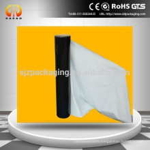 black white polyethylene protective film for packing