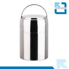 304 de acero inoxidable a prueba de vacío aislados contenedor de calentador de alimentos