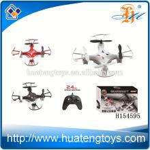 Nuevo producto 2.4G 4 canales mini rc quadroncopter drones con girocompás / quadrocopter H154595