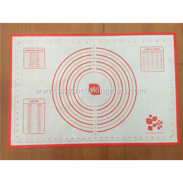 Excellent quality for Pastry Rolling Baking Mat Resuable Silicone Pastry Mat export to Cook Islands Supplier