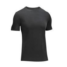 T-shirt da compressão do gym do Spandex