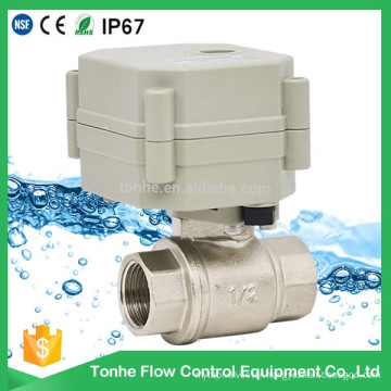 2-Way Electric Control with Actuator Water Cwx-15q Motorized Ball Valve