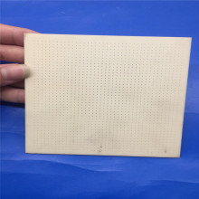 Square Alumina Ceramic Substrate / Multi Holes Sheet