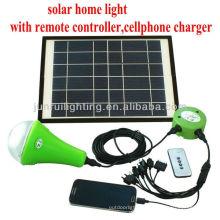 Wiederaufladbare CE solar Hauptbeleuchtung; indoor Solarleuchten; Dekoration solar Beleuchtungs-Systeme