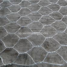 3,4 mm Galvanized Gabion Box untuk River Bank Project