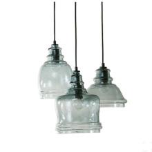 Декоративные стеклянные подвесные светильники