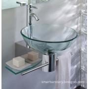 Glass Vanity\Glass Bowl\ Glass Wash Basin (BV-9001)
