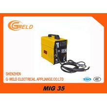 Máquina de soldadura portátil IGBT MIG do inversor / Welde